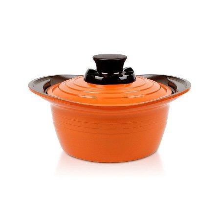 Caçarola de Cerâmica Premium Roichen 18cm 1,8L Laranja