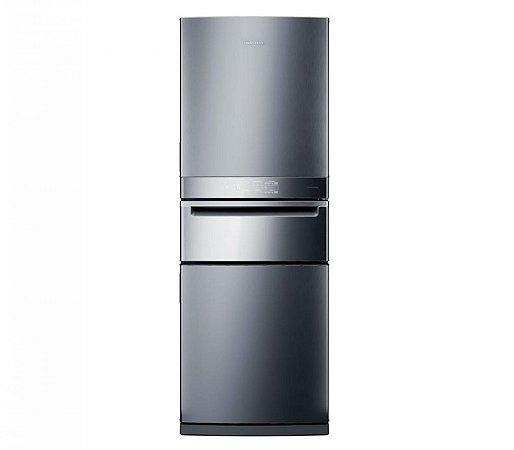 Geladeira Brastemp Inverse 3 Frost Free 419 litros cor Inox com Freeze Control Pro