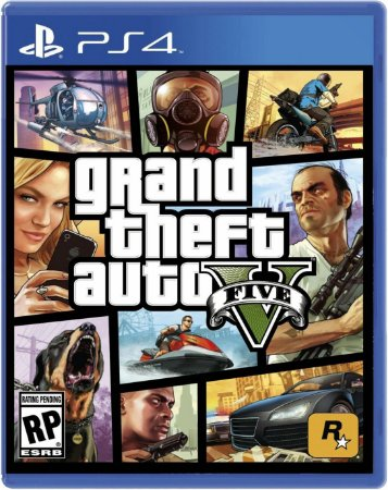 JOGO PS4 GRAND THEFT AUTO V GTA