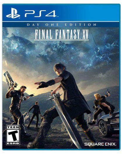 JOGO FINAL FANTASY XV DAY ONE EDITION PS4