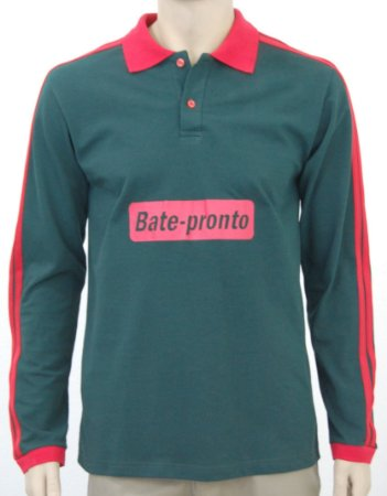 943464767806c Camiseta polo manga longa masculina - MH Uniformes