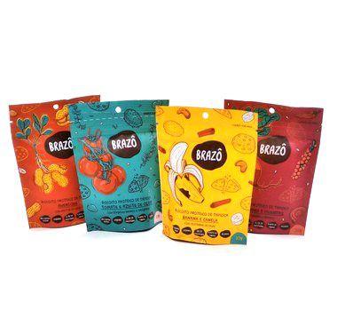Biscoitos Proteicos de Tapioca | Combo Brazô (4 unidades)