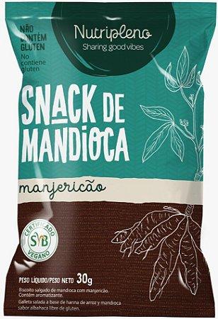 Snack de Mandioca sabor Manjericão (30g)