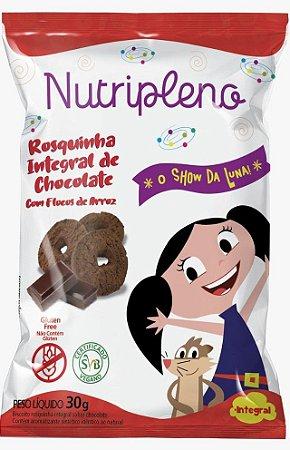 Biscoito Show da Luna | Rosquinha Integral de Chocolate (30g)