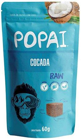 Snacks Popai | Cubos macios sabor Cocada (60g)