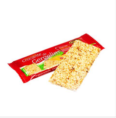 Barra Crocante de Gergelim com Quinoa e Maçã (10g)