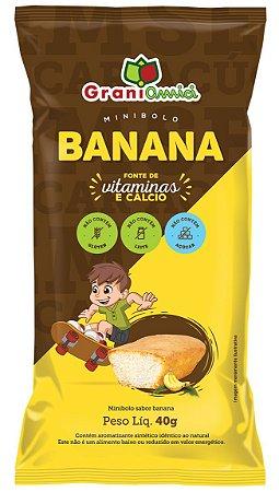 Bolinho de Banana   Zero Glúten, Zero Açúcar e Zero Lactose (40g)