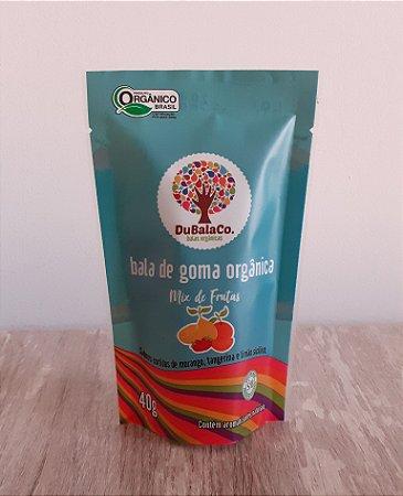 Bala de Goma Orgânica sabor Mix de Frutas (40g) - VENCIM 28/02/21