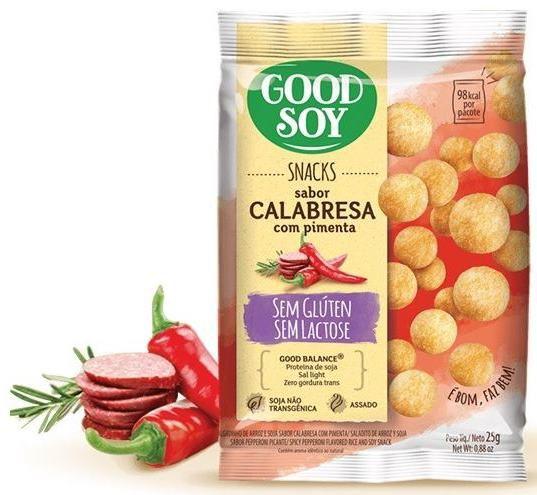 Snacks Calabresa com Pimenta (25g)