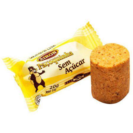 Paçoquinha de Amendoim sem açúcar (20g)