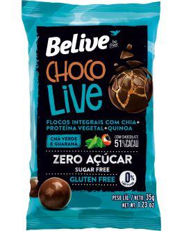 Drageado Chocolive Chá Verde e Guaraná  (35g)