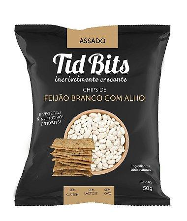 Chips de Feijão Branco com Alho (50g)