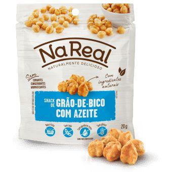 Snacks de Grão de Bico com Azeite (20g)