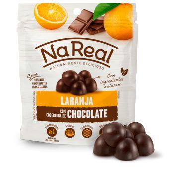 Snacks de Laranja com cobertura de Chocolate (40g)