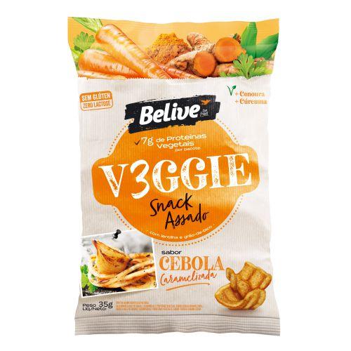 Snack VEGGIE Cebola Caramelizada (35g)