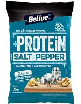 Snack +Protein Salt & Pepper (35g)