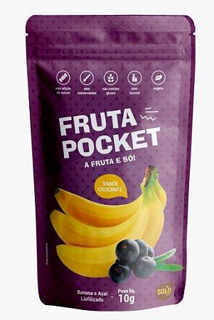 Snack de Banana e Açaí liofilizado (10g)