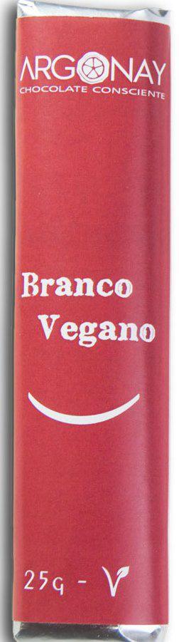 Tablete Chocolate Branco | Vegano e Sem leite (25g)