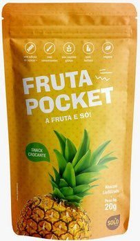 Snack de Abacaxi liofilizado Fruta Pocket (20g)