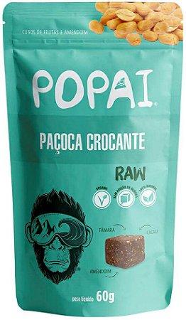 Snacks Popai | Cubos macios de Paçoca Crocante (60g)