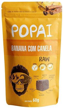 Snacks Popai | Cubos macios de Banana com Canela (60g)