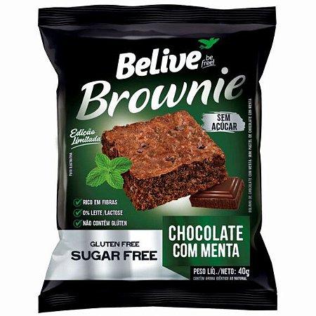 Brownie Chocolate com Menta | Sem adição de açúcar (40g)