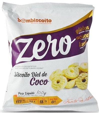 Biscoito de Coco | Sem adição de açúcar (100g)