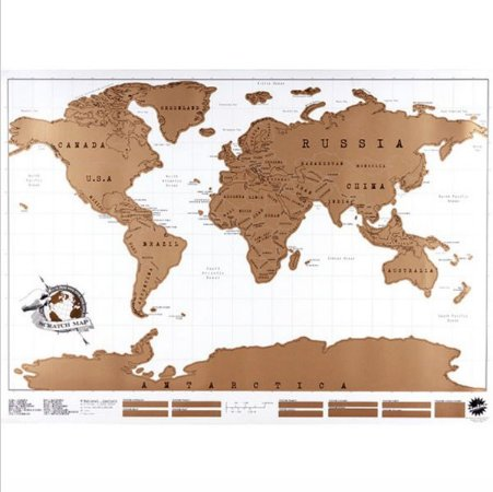 Mapa de raspar