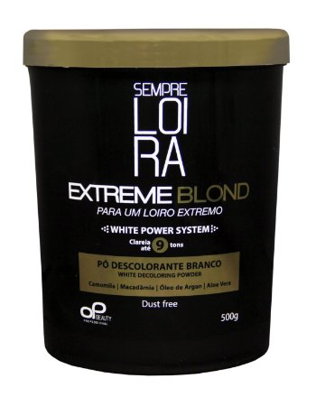 PÓ DESCOLORANTE EXTREME BLOND - 500g