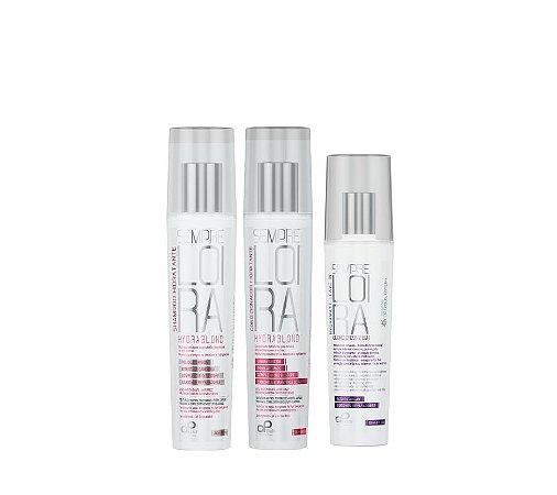 Kit Hidratação + Proteção (1 Shampoo Hydrablond +1 Cond. Hydrablond + 1 Leave in Blond)
