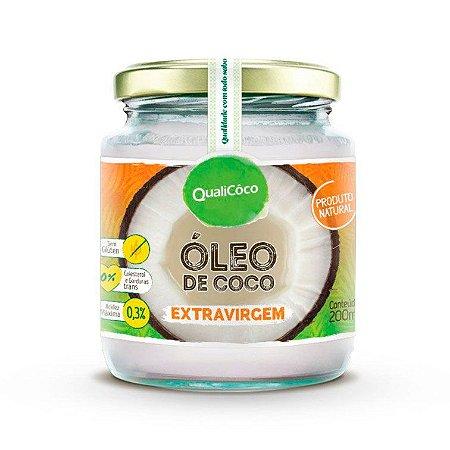 Óleo de Coco Extra Virgem QualiCôco 200ml