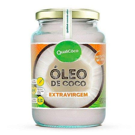 Óleo de Coco Extra Virgem QualiCôco 500ml