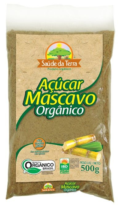 Açúcar Mascavo Orgânico 500g DaColônia