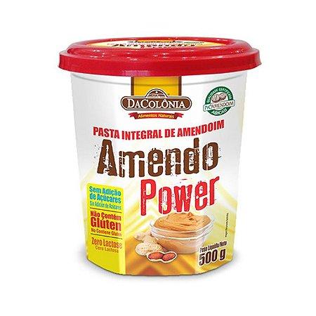 AmendoPower Pasta de Amendoim 500g DaColônia