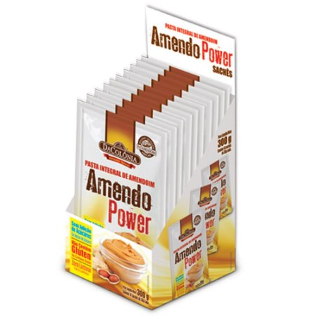 AmendoPower Saches 10x30g DaColônia