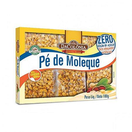 Pé-de-moleque Zero Açúcar 100g DaColônia