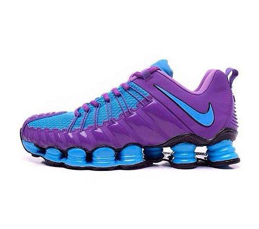 0e31c3ebe63 Tênis Nike Total Shox 2016 - Masculino - Lilás Azul