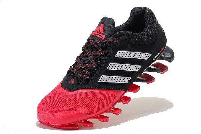 Tênis Adidas Springblade Drive 2.0 - Masculino - Preto com Vermelho b51aee42971e4