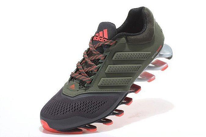buy popular b0d6e e2759 ... discount code for tênis adidas springblade drive 2.0 masculino verde  com cinza a8488 2b26b