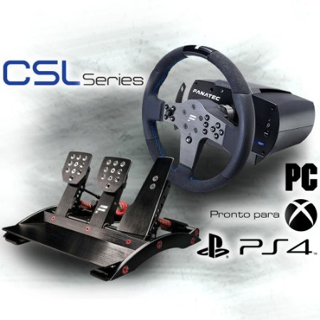 Bundle Fanatec Csl Elite Officially Licensed For Ps4 com pedal ClubSport V3