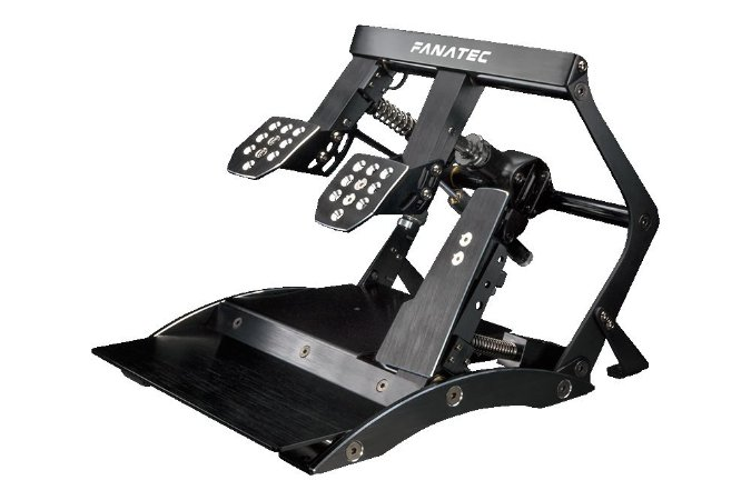 Black December - Pedal Fanatec ClubSport V3 Invertido