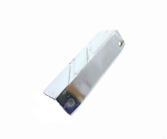 Puxador Lateral Para Balcão Frigorifico N°5 Em L Cromado