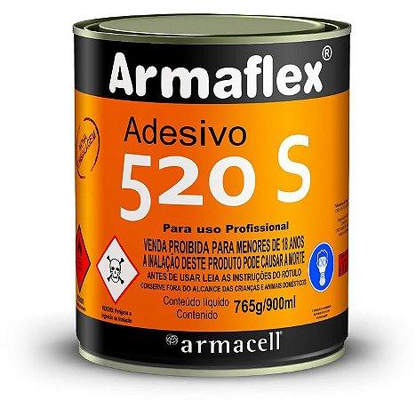 Adesivo 520 S especial para aplicação de isolamentos térmicos flexíveis