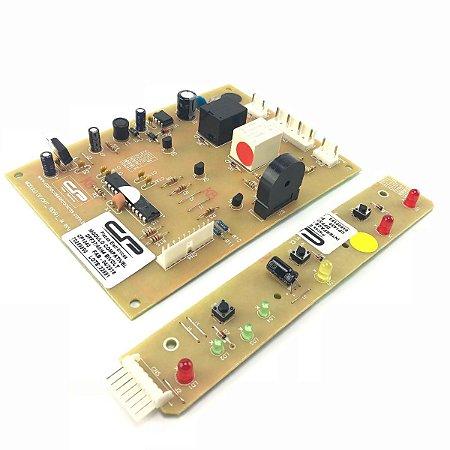Placa Potência e Interface Refrigerador Electrolux DFF37 DFF40 DFF44 CP1040 CP1430