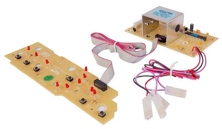 Placa Potência e Interface Lavadora Brastemp BWC10 BWG10 BWF09A CP0485 326046011 Bivolt