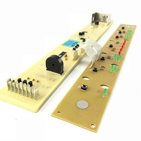 Placa Potência e Interface Lavadora Brastemp BWF22 CP0241 326003168 Bivolt