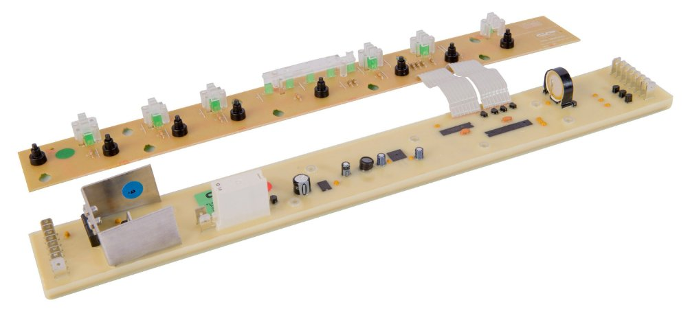 Placa Potência e Interface Lavadora Brastemp BWQ24B Tira Mancha CP0420 Bivolt