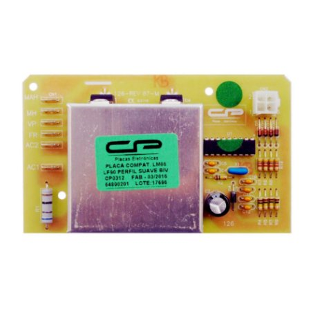 Placa Potência Lavadora Electrolux LM08 LF90 Perfil Suave CP0312 64800201 Bivolt