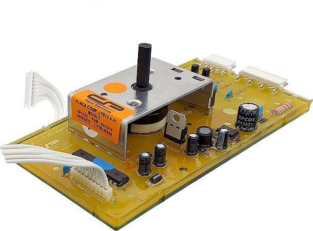 Placa Potência Lavadora Electrolux LTE12 Versão 1 CP1432 64800652 64800657 64502023 Bivolt