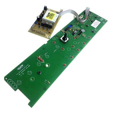 Placa Potência e Interface Lavadora Brastemp BWL09 Versão 2 CP1431 W10540663 W10356418 Bivolt